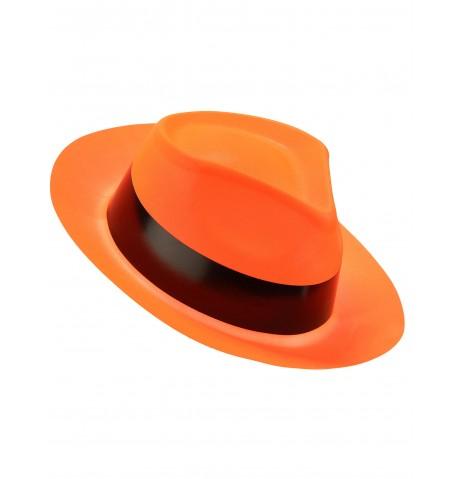 Chapeau Al Capone Fluo