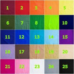 Bandana Uni 25 Différentes Couleurs