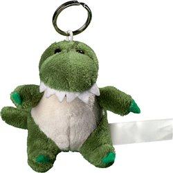 Porte clés peluche crocodile  vert 10 cm