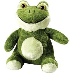 Peluche grenouille  vert clair 14 cm