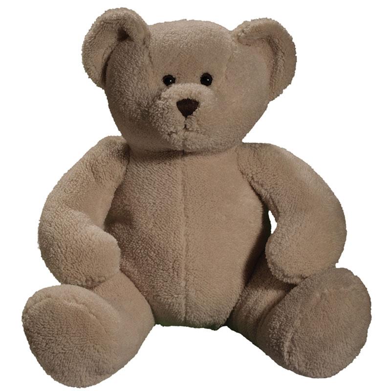 Peluche ours  beige 38 cm