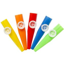 Sifflet Kazoo plastique 11 cm