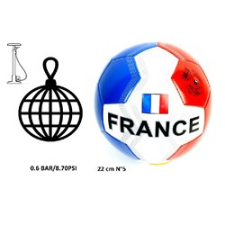 Ballon de Foot France en polyester