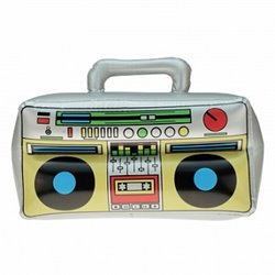 Poste de radio gonflable 'Ghetto Blaster'