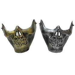 Demi Masque Crâne Steampunk pour Adulte