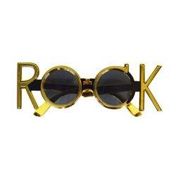 Lunettes Gag Rock Or