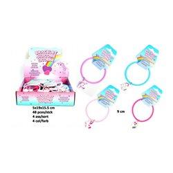 Bracelet licorne en silicone MIX
