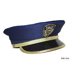 Casquette de Policier Bleu Marine pour Enfant