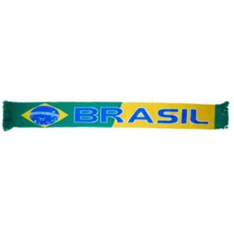 Écharpe Jacquard de l'Équipe de Brésil