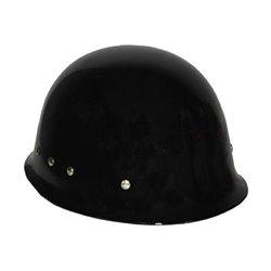 Casque Police Militaire Noir