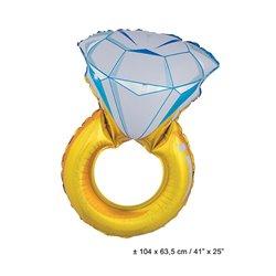 Ballon en Forme de Bague Diamant
