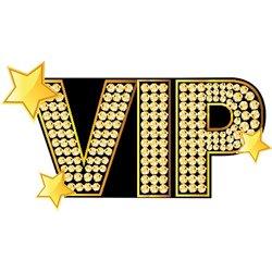 Pinata en Carton Mention VIP 55 cm