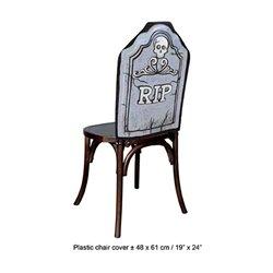 Housse de Chaise RIP pour Veillé Funebre