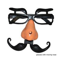 Lunettes Sourcils Nez et Moustache Réglable