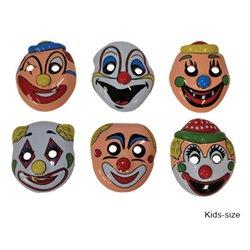 Masque Coque Clown pour Enfant Mix II