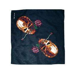Bandana Pirate tête de mort avec rose