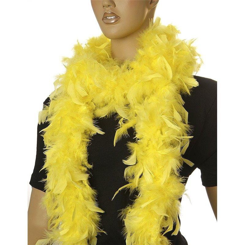 Boa à plumes jaunes 1,8 mètre