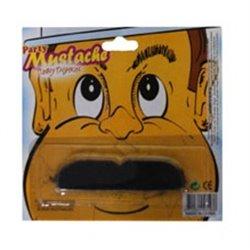 Fausse petite moustache plate 6 cm