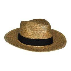 Chapeau de paille type Havana avec bandeau