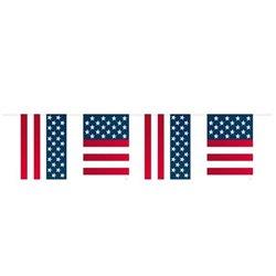 Guirlande drapeau usa
