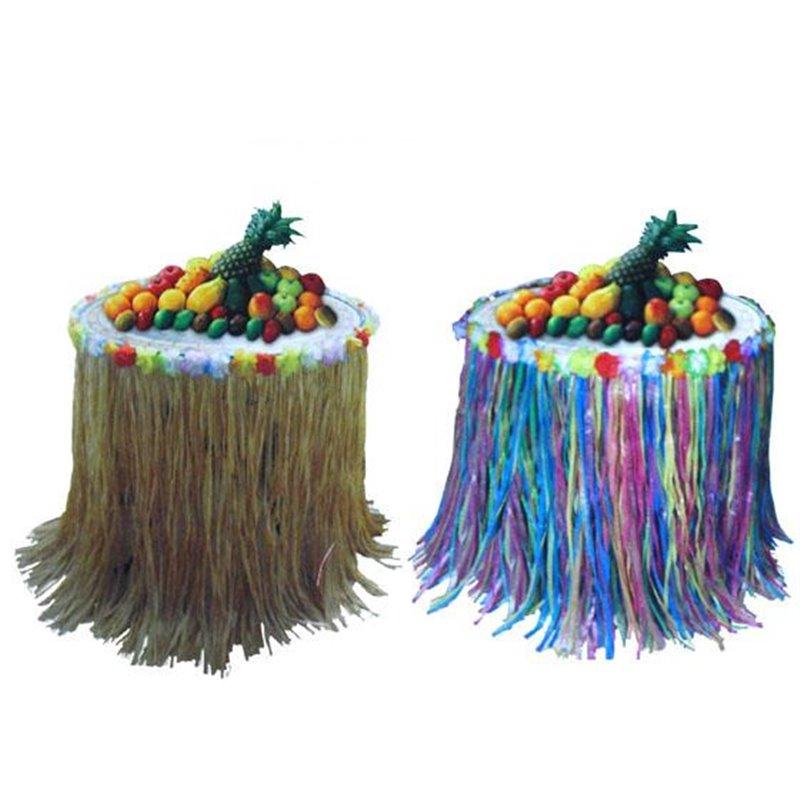 Décoration de table Tahiti Hawaï multicolore