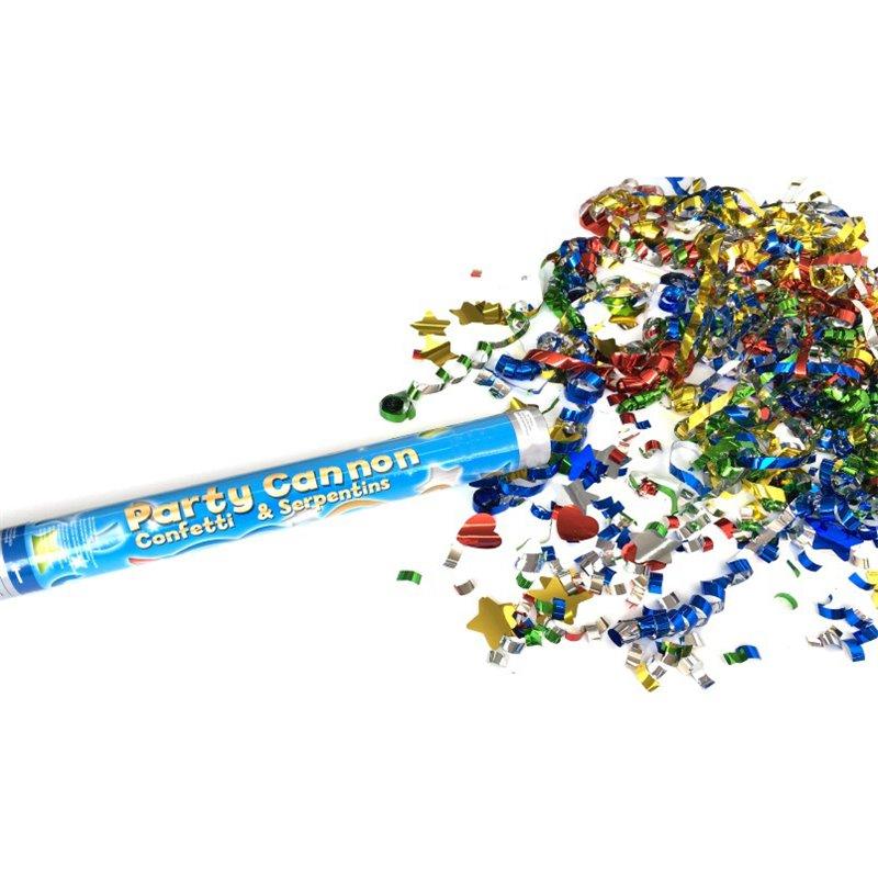 Tube à confettis Premium 50cm