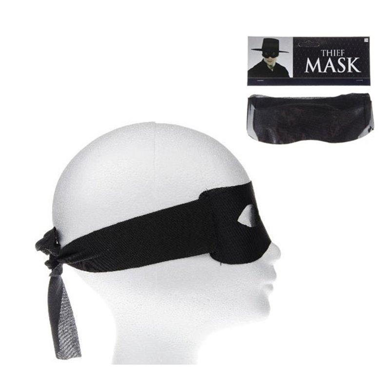 Masque de Zorro Noir
