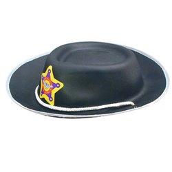 Chapeau de shérif en mousse enfant