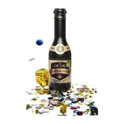 Bouteille de champagne à Confettis Popper 31cm