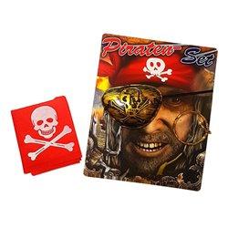 Kit tête de pirate 3 pièces