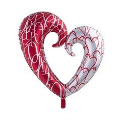 Ballon aluminium Coeur amoureux 110 cm