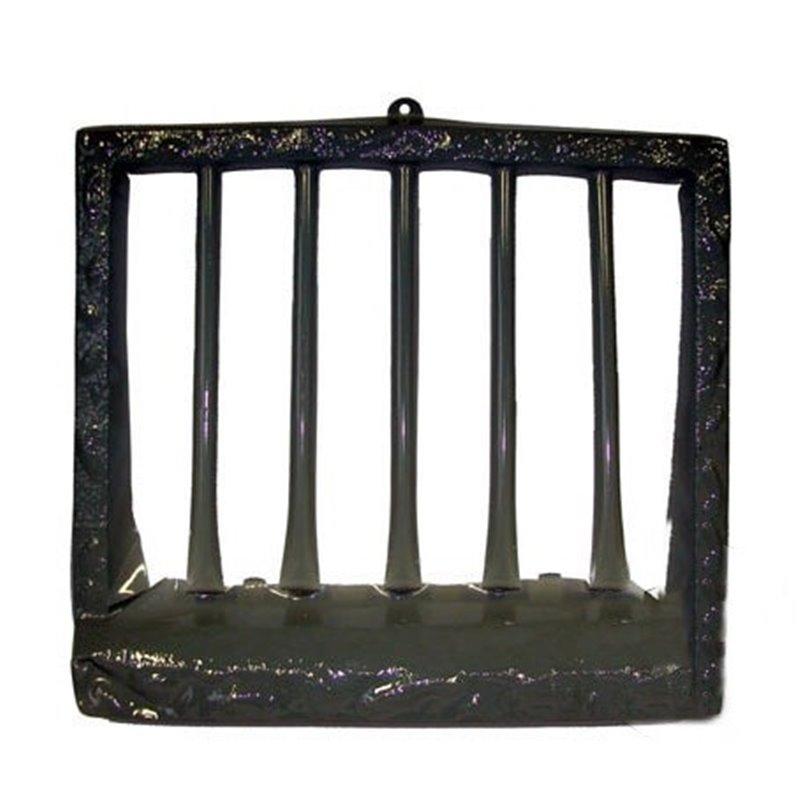 Décoration gonflable barreaux de prison 54cm