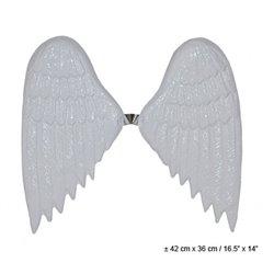 Ailes d'ange en plastique blanc 42cm