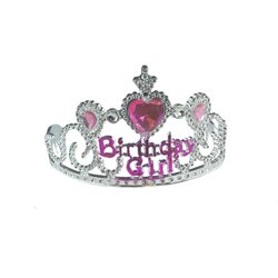 "Diadème de princesse  ""Birthday Girl"""