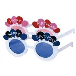 "Lunettes d'anniversaire ""Happy Birthday"""