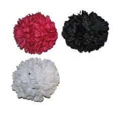 Clip fleur pour cheveux 13cm