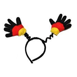 Serre-tête gants drapeau Allemagne