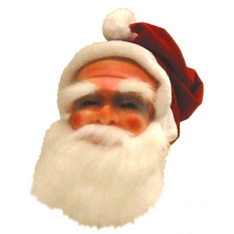 Masque avec bonnet de Père Noël
