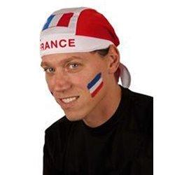 Bandana bleu blanc rouge France