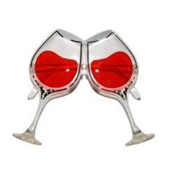 Lunettes Humoristiques Verres de Vin