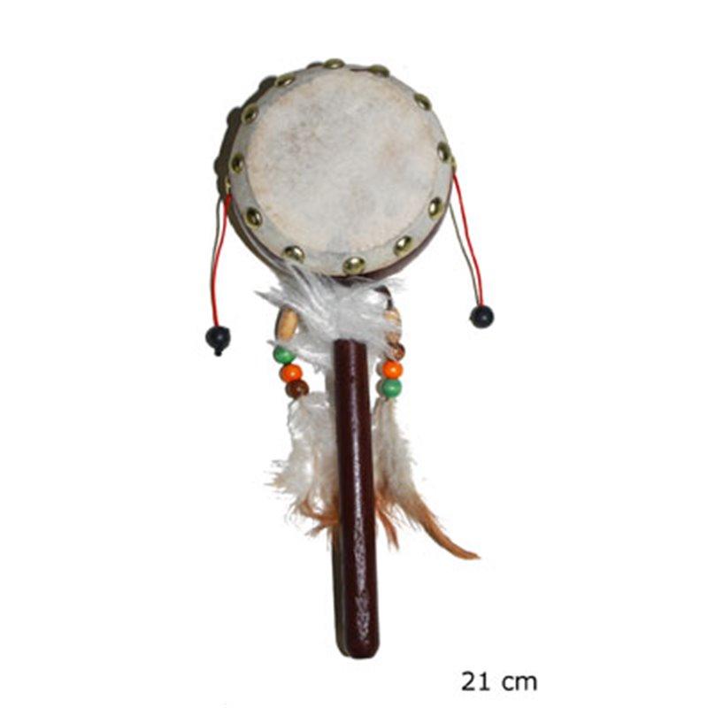 Tambourin indien avec manche
