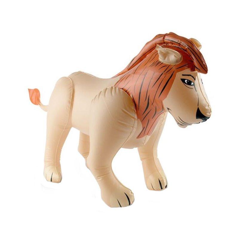 Imitation lion gonflable 80cm