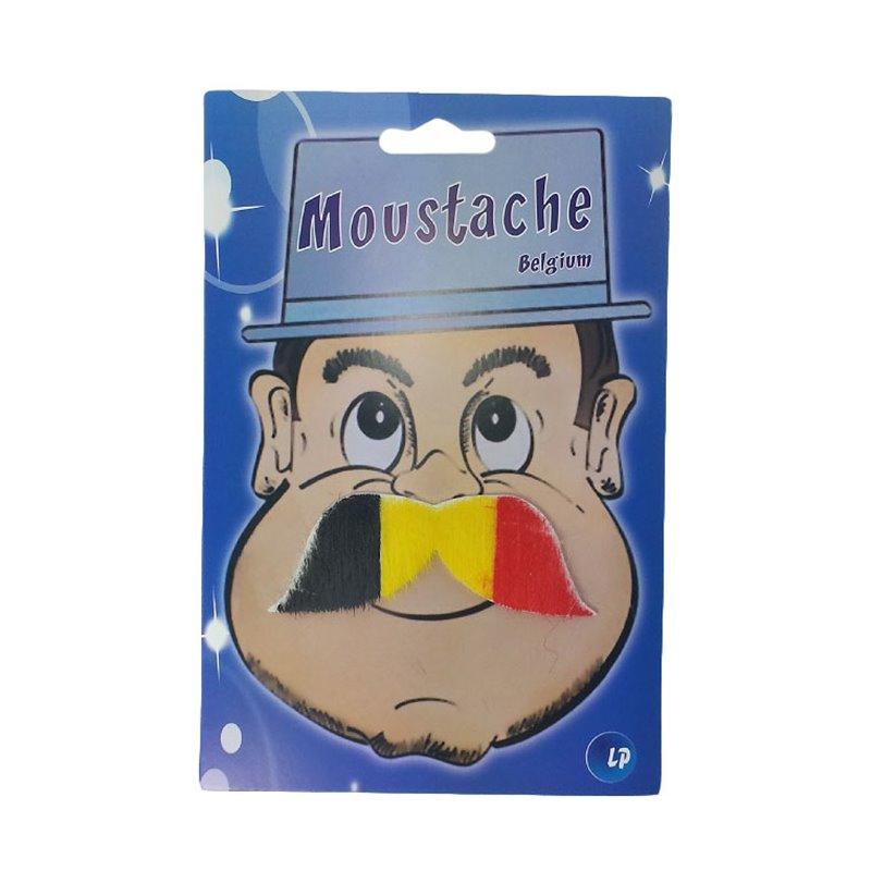 Fausse moustache Belgique