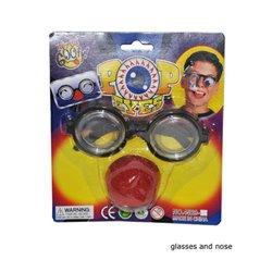 Lunettes de clown + nez