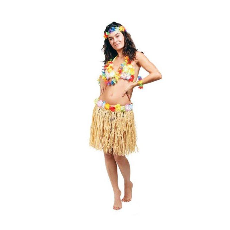 Jupe Tahiti raphia 45 cm