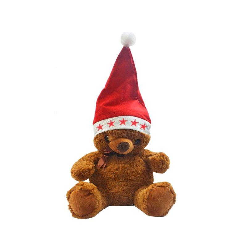 Bonnet de Noël Lumineux pour Peluche ou Décoration