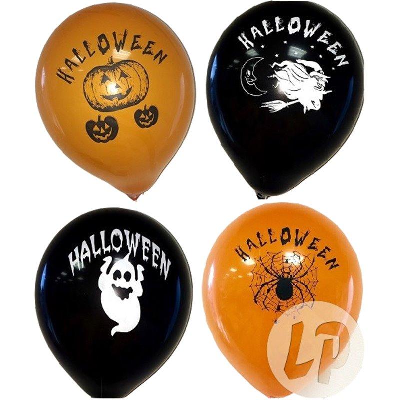 Ballons Halloween (lot de 10)