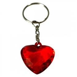 Porte-clés Coeur en Crystal