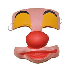 Masque de Clown en Mousse