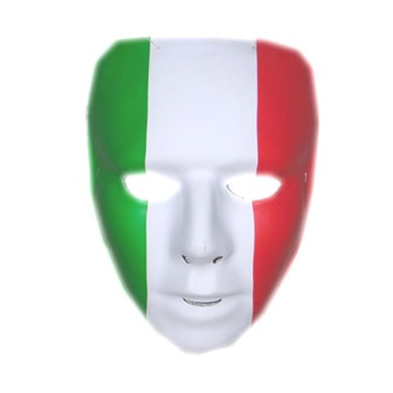 Masque Coque Drapeau Italie